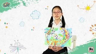 Descoperă povestea lui Xinyi, artista care și-a pus amprenta pe una dintre sacoșele reutilizabile Mega Chic din noua colecție.