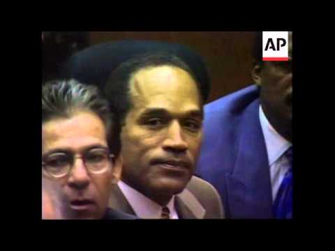"USA: OJ SIMPSON TRIAL VERDICT: OJ SIMPSON FOUND ""NOT ...