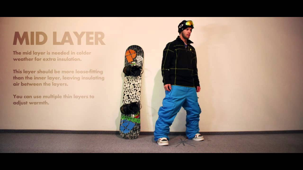 Learn How To Dress Right For Snowboarding  Guide To Getting Layered