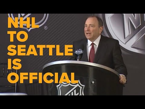NHL in Seattle is official
