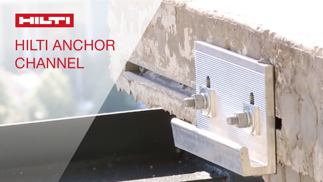 Long Term Parking >> COMPARISON of the Hilti cast-in anchor channel vs. competitive solutions - YouTube