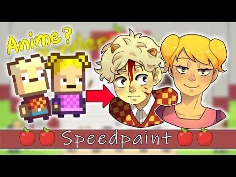 Kindergarten 2 Characters | Speedpaint