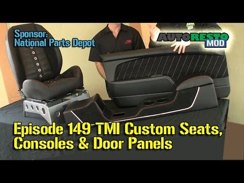 TMI NEW Bucket Seats for Classic Car, Console, Door Panels, Mustang, Camaro  Episode 149 Autorestomod