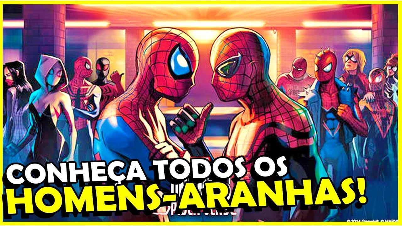 O Que é O Aranhaverso Tema Do Novo Filme Do Homem Aranha
