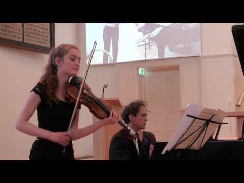 Noa Wildschut & Yoram Ish-Hurwitz play Rondo Brillant by F. Schubert