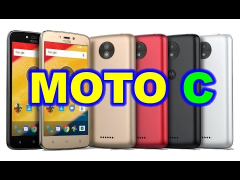 Motorola Moto C Specifications and Features in Hindi