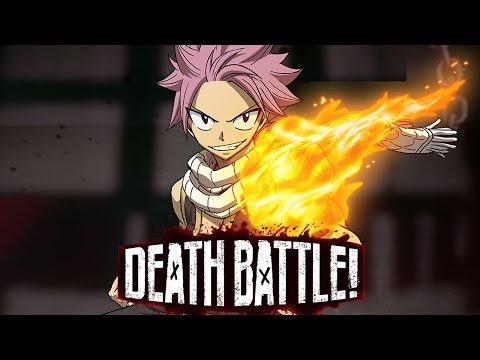 Natsu Dragneel Blazes into DEATH BATTLE!