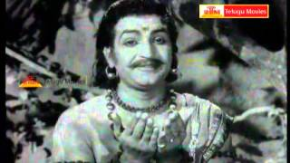 "Neela kanta raava deva - ""Telugu Movie Full Video Songs"" - BhooKailas(NTR,ANR,Jamuna)"
