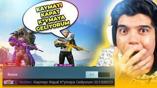 KAYMAYI KAPAT KOYMAYA GELİYORUM DEDİ!! | PUBG Mobile