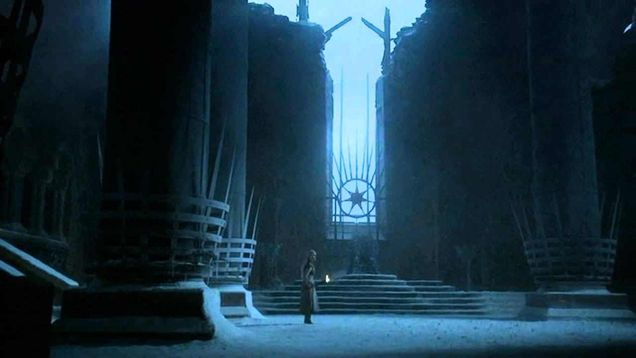 Get Out Throne Room Game Of Thrones