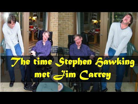 Jim Carrey Meets Stephen Hawking