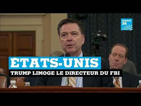 États-Unis : Donald Trump limoge le directeur du FBI