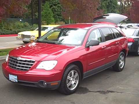 2008 chrysler pacifica touring 4 0l v6 dvd surround sound. Black Bedroom Furniture Sets. Home Design Ideas