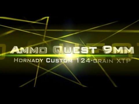 Ammo Quest 9mm: Hornady Custom 124-grain Tested In Ballistic Gelatin Test Review
