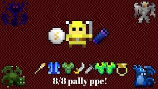 RotMG Insane Paladin PPE 8/8! Marble seal and Void Quiver drop!