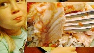 Kids React To Dads Cooking, ! Wild Caught Salmon Fillet