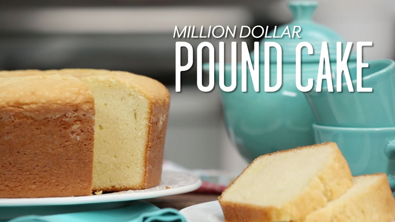 Butter Free Pound Cake Recipe Without Butter