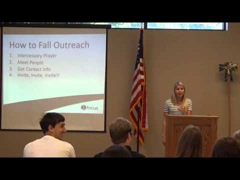 How To Fall Outreach- Talk 3 Student Missionary Summit
