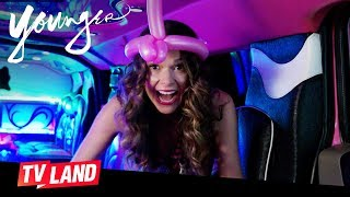 'Holding Out for a SHero' Younger Ep. 11 Bloopers | TV Land