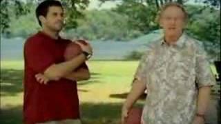 Manning NFL Ticket commercial