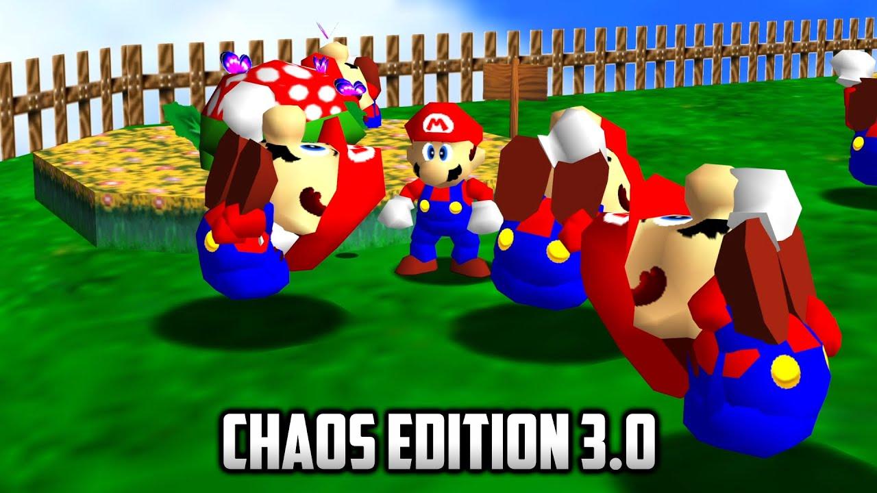 ⭐ Super Mario 64 - Chaos Edition 3.0 - 4K