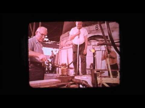 Seneca Glass Company, Morgantown, W.Va. Documentary 1973