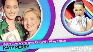 Consuelo Duval Papá,'Borrego'Nava Trabajador,Victoria Ruffo Muy Sexy,Katy Perry y Hillary Clinton.