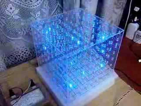 BlueCube 3D куб из светодиодов