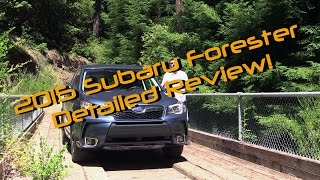 2014 / 2015 Subaru Forester XT Detailed Review and Road Test