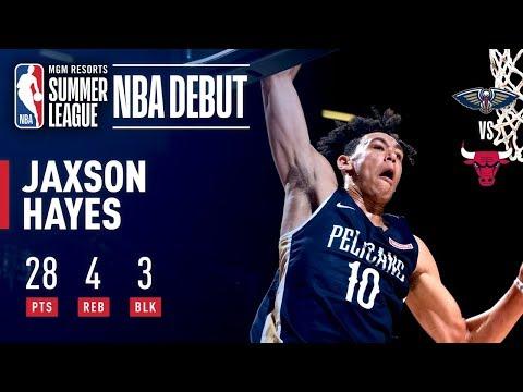 Jaxson Hayes Leads Pelicans In Summer League Debut | July 8, 2019