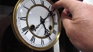 Часы старинные настенные с боем антиквариат