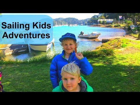Wallabies And Peacocks On Kawau Island A Copper Mine And Mansion House With Sailing Kids Ep 3 Youtube