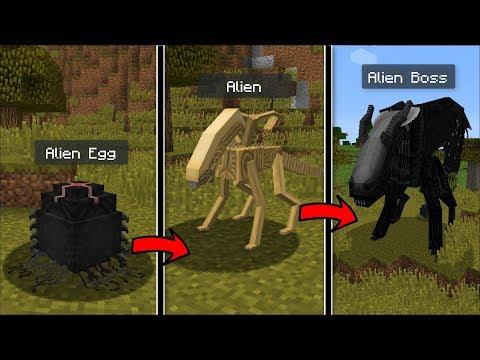 Minecraft LIFE AS A ALIEN VS PREDATOR IN MINECRAFT !! SURVIVE AS AN ALIEN IN MINECRAFT !! thumbnail