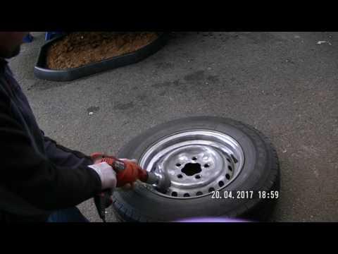VW T25 Steel Wheels Refurb