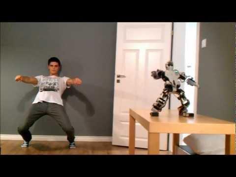 Humanoid Robot Control using Kinect