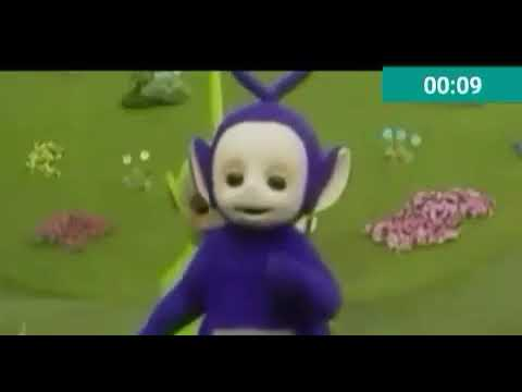 Video lagu jaran goyang versi film kartun teletubbies
