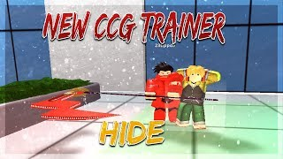 NEUE CCG TRAINER HIDE SHOWCASE! | Ro-Ghoul | Roblox
