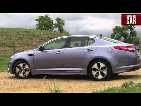 2013 KIA Optima Hybrid Drive & Review