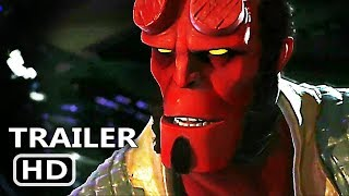 PS4 - Injustice 2 Hellboy Gameplay (2017)