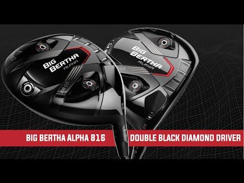 Big Bertha Alpha 816 Double Black Diamond Driver Youtube