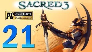 Sacred 3 PC Walkthrough - Part 21 Zhurak / Legend Difficulty / Gameplay 1080p