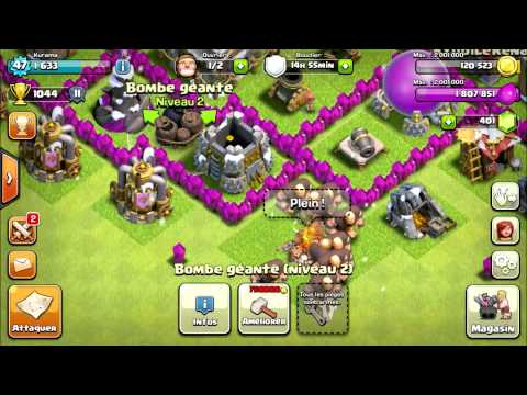 HDV 6 Maximisé - Clash of Clans