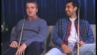 "Dave Harold and Shokat Ali Snooker Trailer ""Friends"" Grand Prix 1998"