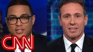 Don Lemon, Chris Cuomo share Valentine's Day message