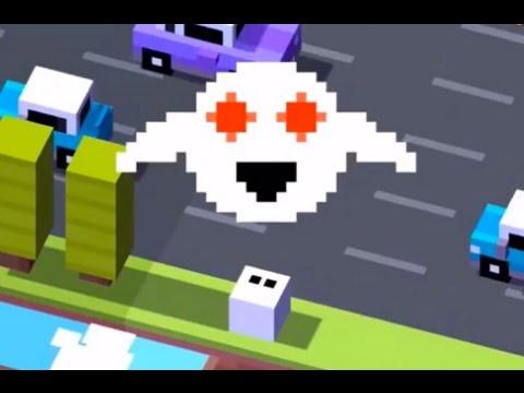 Crossy Road: Unlock Secret Ghost (Forget-Me-Not) - YouTube
