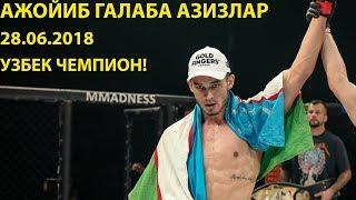 НОКАУТ! МАХМУД МУРАДОВ VS ДАВИД РАМИРЕС XFN (28.06.2018)