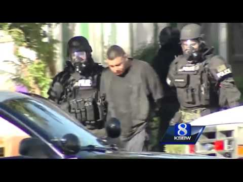 Police standoff in Salinas