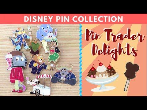 PIN TRADER DELIGHT PINS 🍦 | Disney Pin Collection