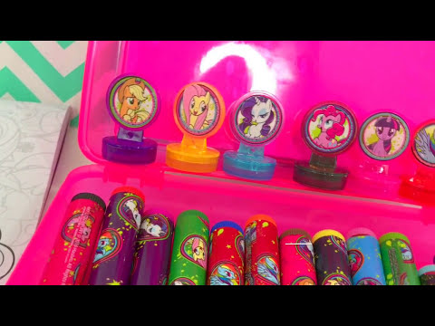 My Little Pony Color, Play & Create ART SET for Kids