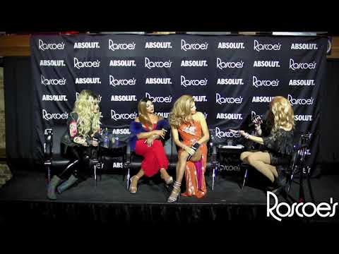 Roscoe's RPDR AS4 Finale Viewing Party with T Rex, Shangela, Valentina, and Adore Delano!
